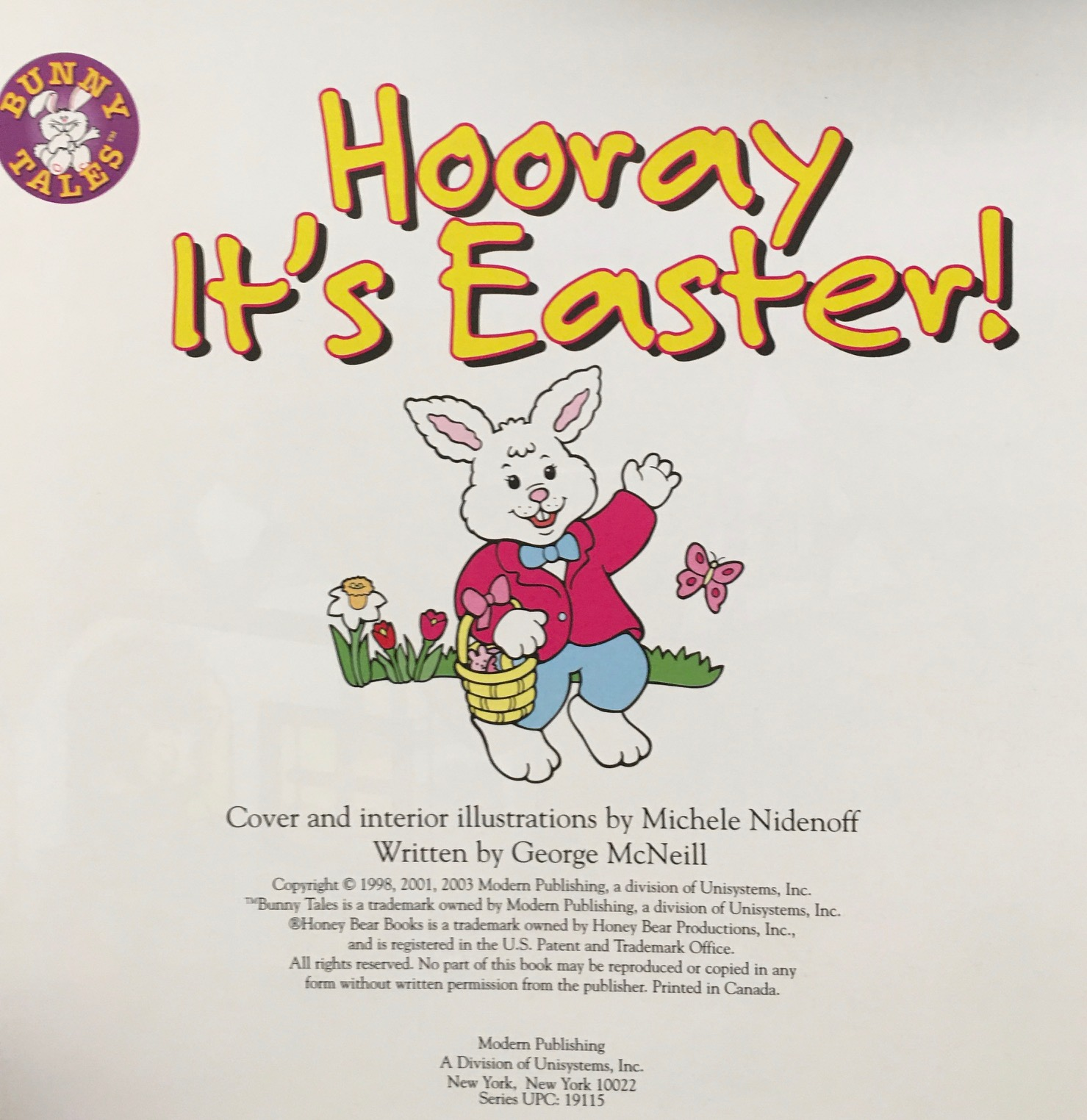 Image for Hooray It's Easter