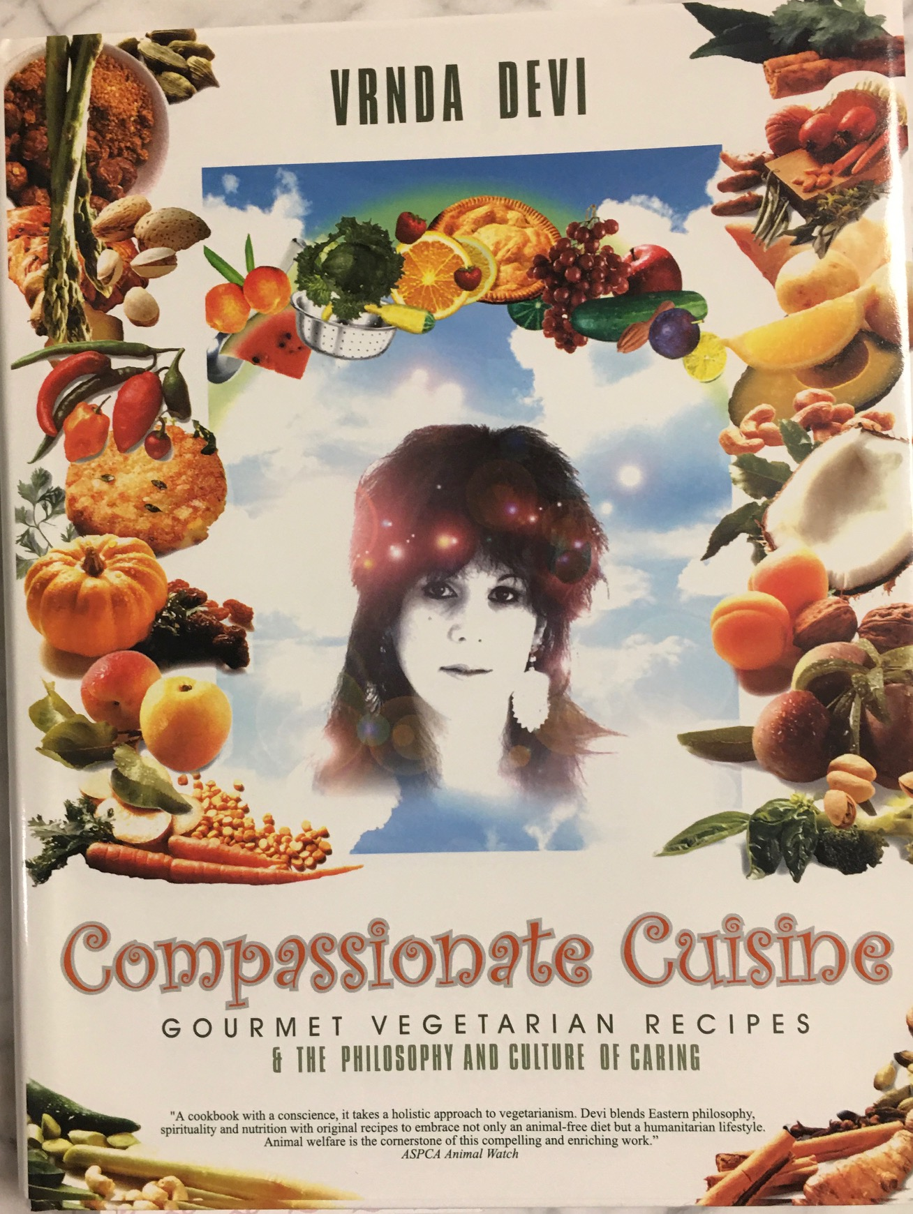Image for Compassionate Cuisine Gourmet Vegetarian Recipes & The Philosophy and Culture of Caring (A Cookbook with a Conscience)