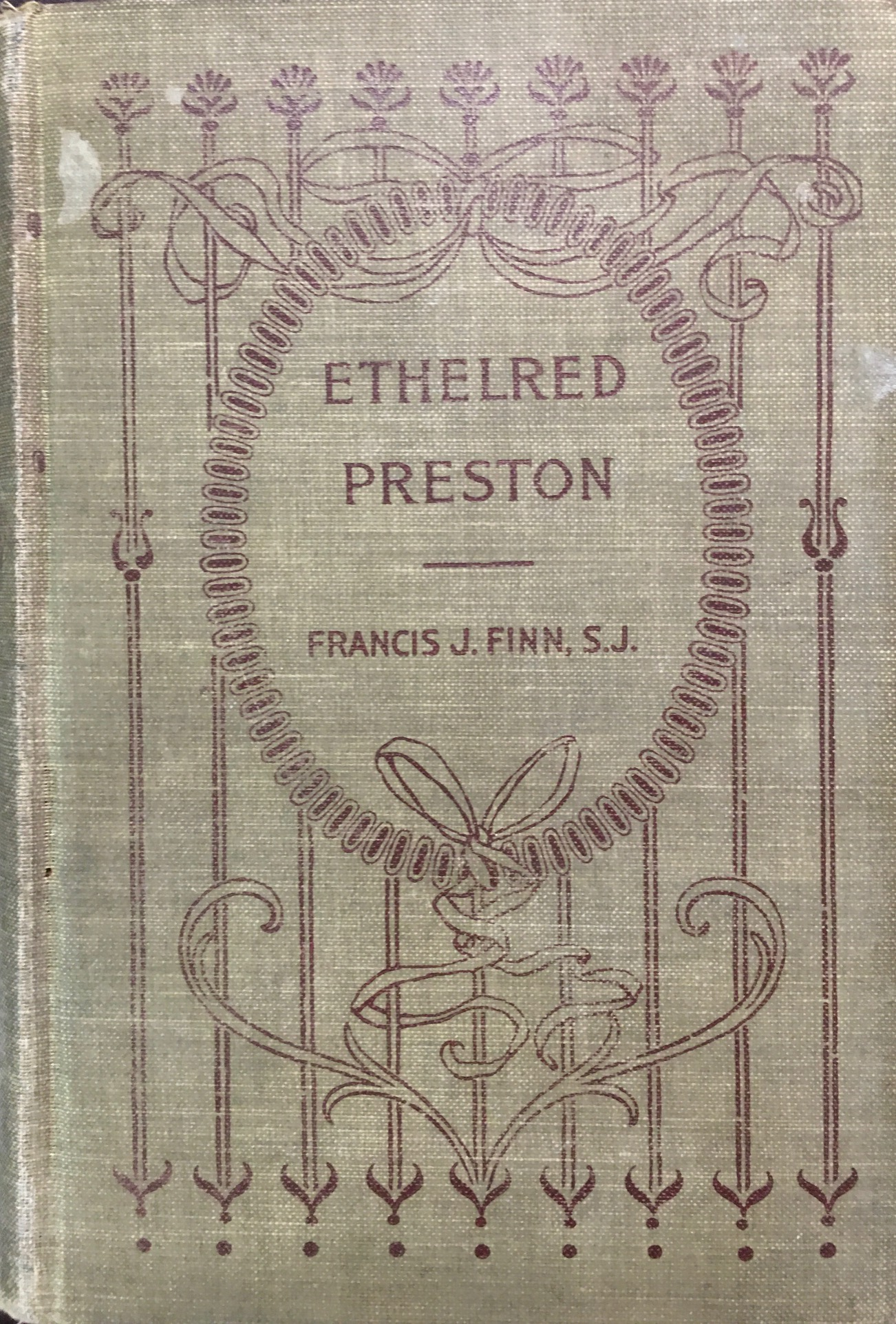 Image for Ethelred Preston; or, The Adventures of A Newcomer
