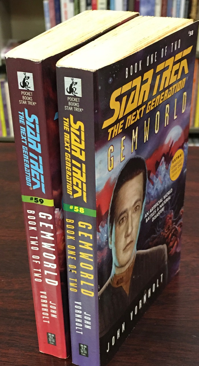 Image for Star Trek The Next Generation: Gemworld 2 Volume set. [Books 1 and 2]