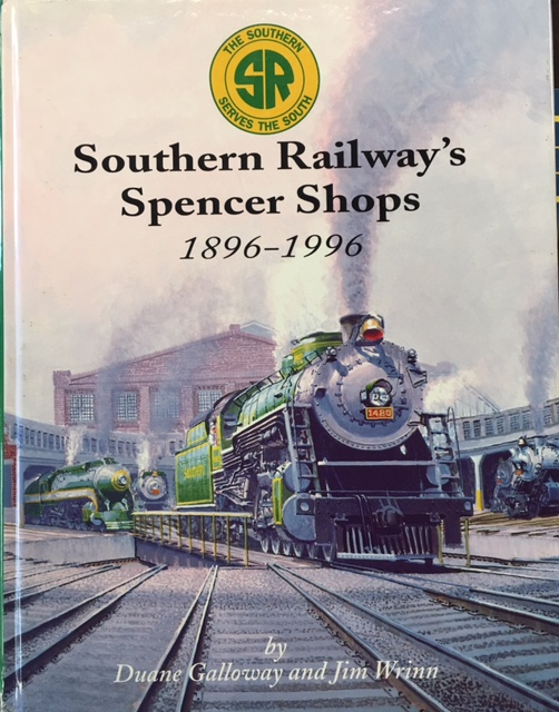 Image for Southern Railway's Spencer Shops: 1896-1996