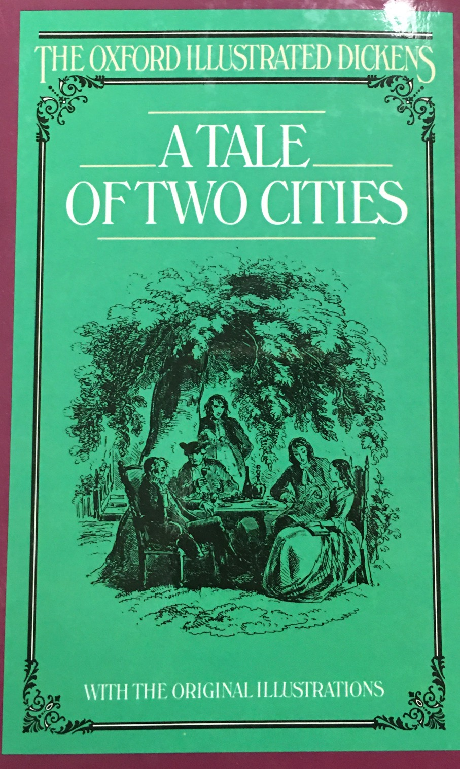 Image for A Tale of Two Cities (The Oxford Illustrated Dickens)