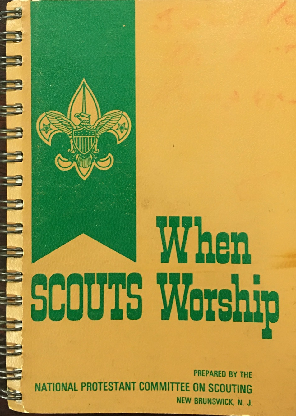 Image for When Scouts Worship: Worship Services, Guides, Resources, Hymns, Folk Songs, Fun Songs