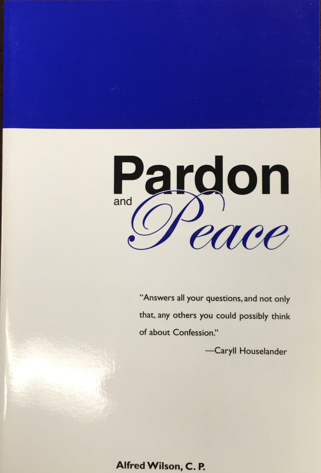 Image for Pardon and Peace