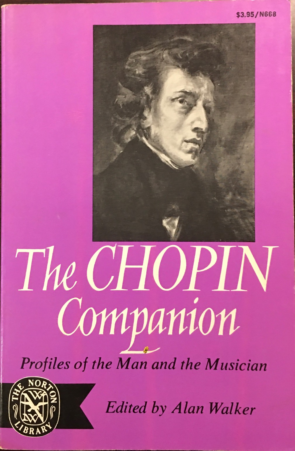 Image for Chopin Companion: Profiles of The Man and The Musician (Norton Library, N668)