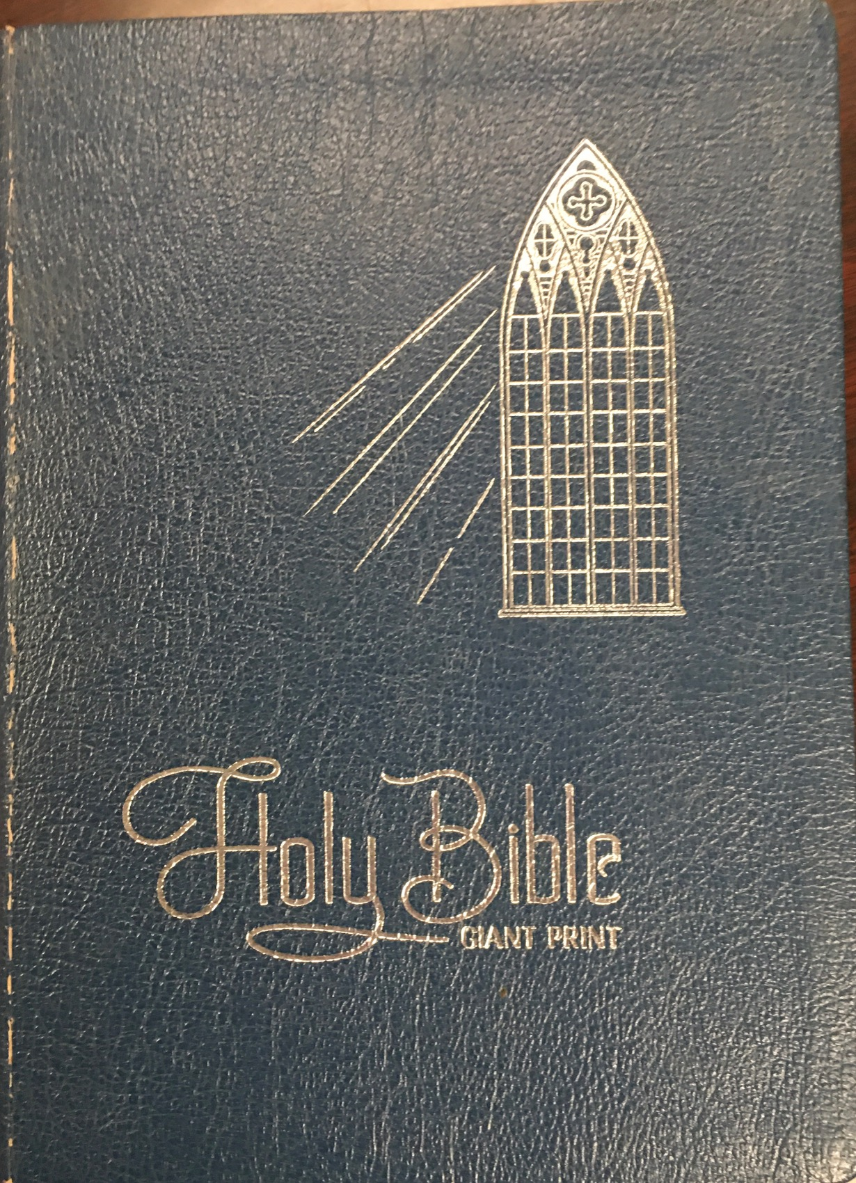 Image for The Holy Bible in Giant Print - Containing The Old and New Testaments in the King James Version (Red Letter Edition)