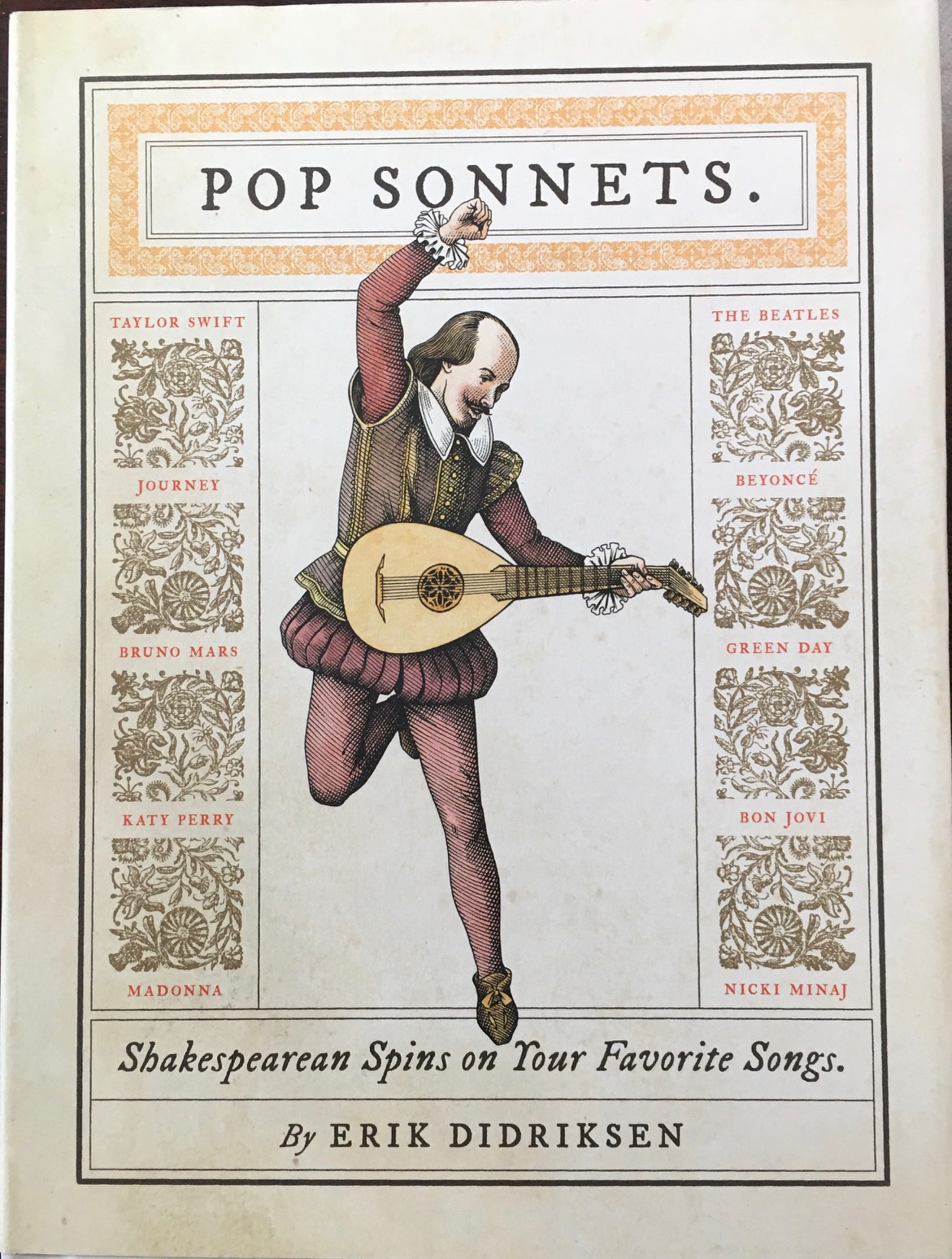 Image for Pop Sonnets: Shakespearean Spins on Your Favorite Songs