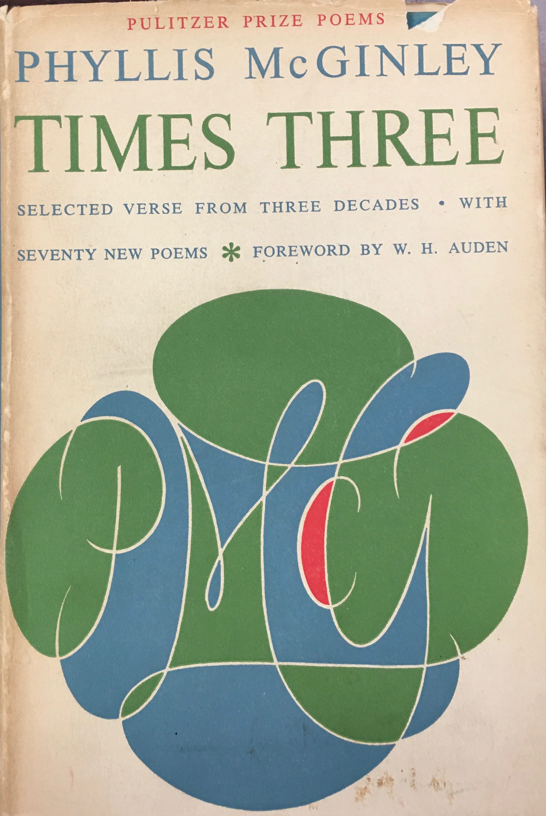 Image for Times Three: Selected verse from three decades with seventy new poems