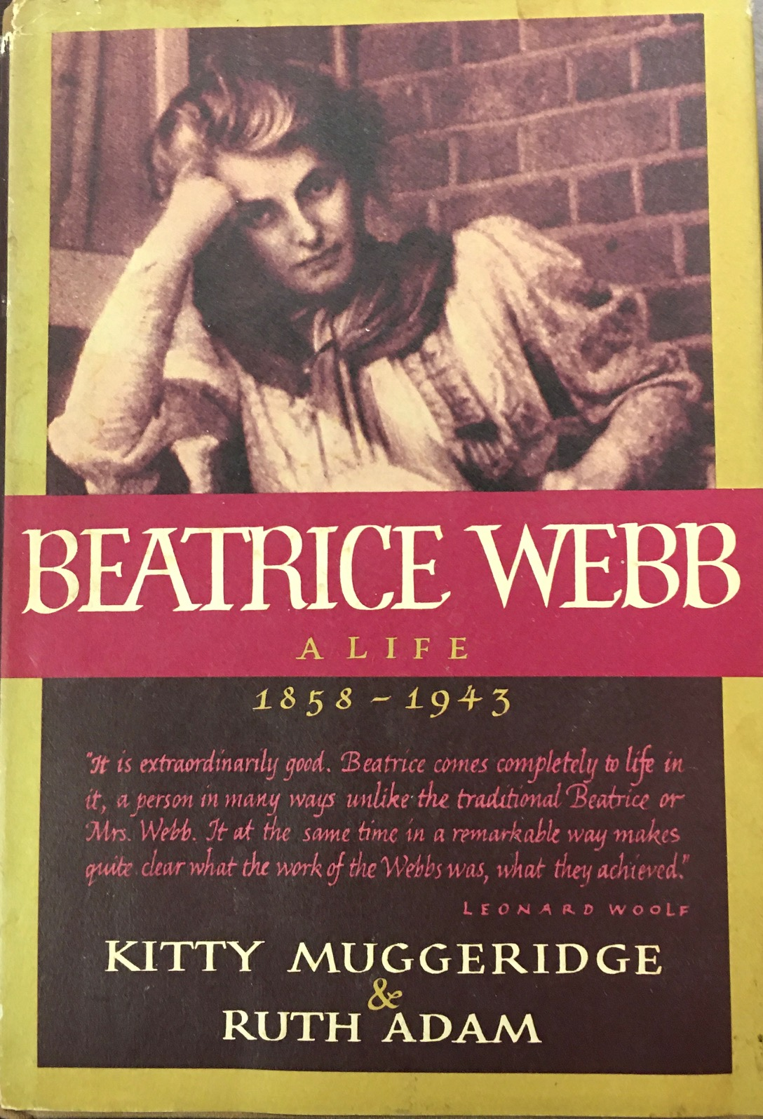 Image for Beatrice Webb A Life, 1858-1943