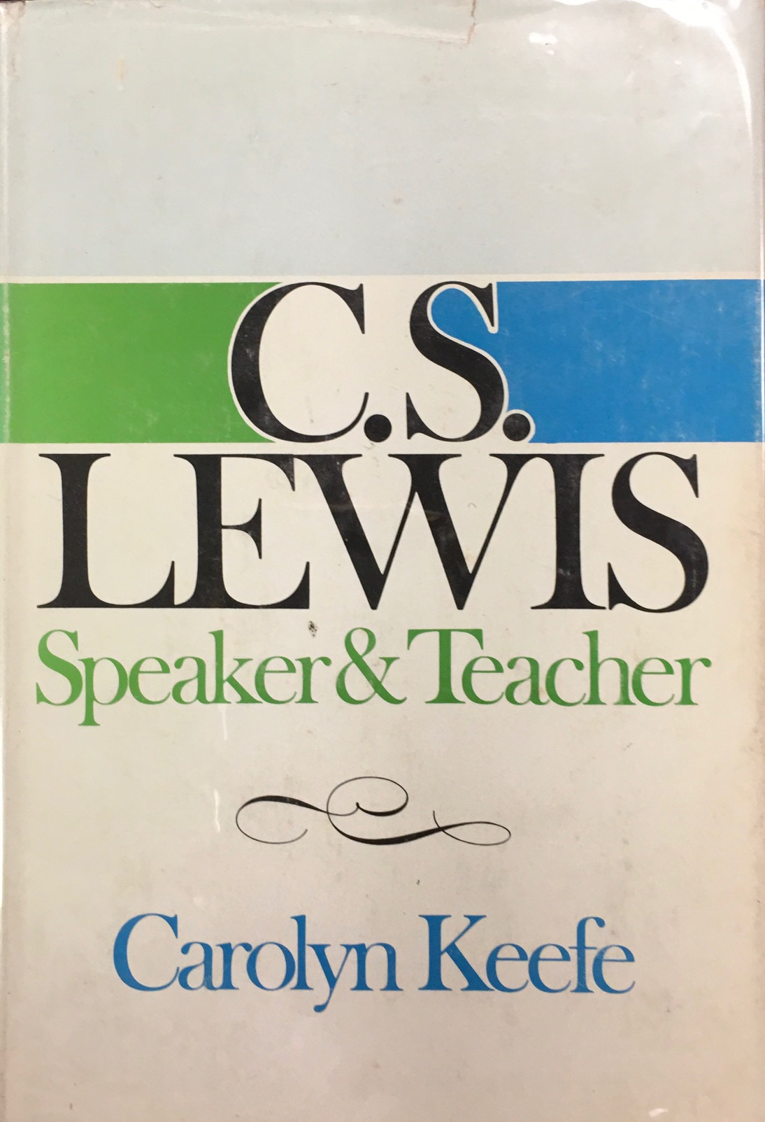 Image for C. S. Lewis:  Speaker & Teacher