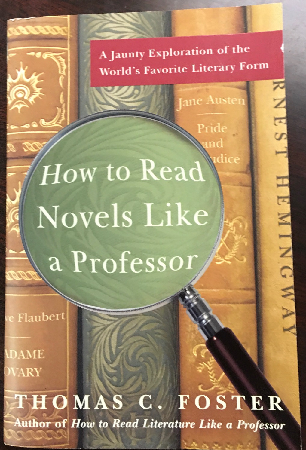 Image for How to Read Novels Like a Professor