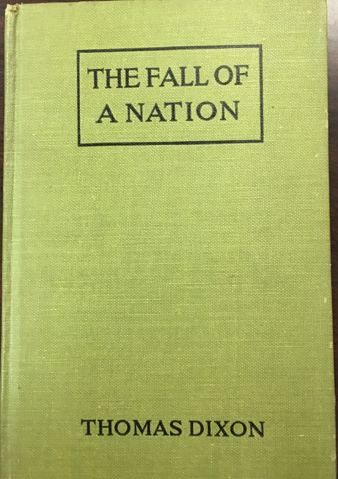Image for The Fall of a Nation: A Sequel to a Birth of a Nation