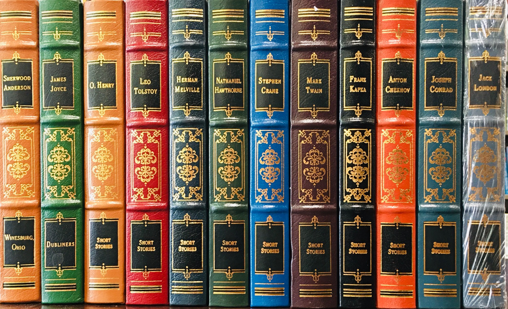 Image for The World's Best Short Stories - Leather Bound Collector's Edition, 12 Volume Matched Set (Complete)