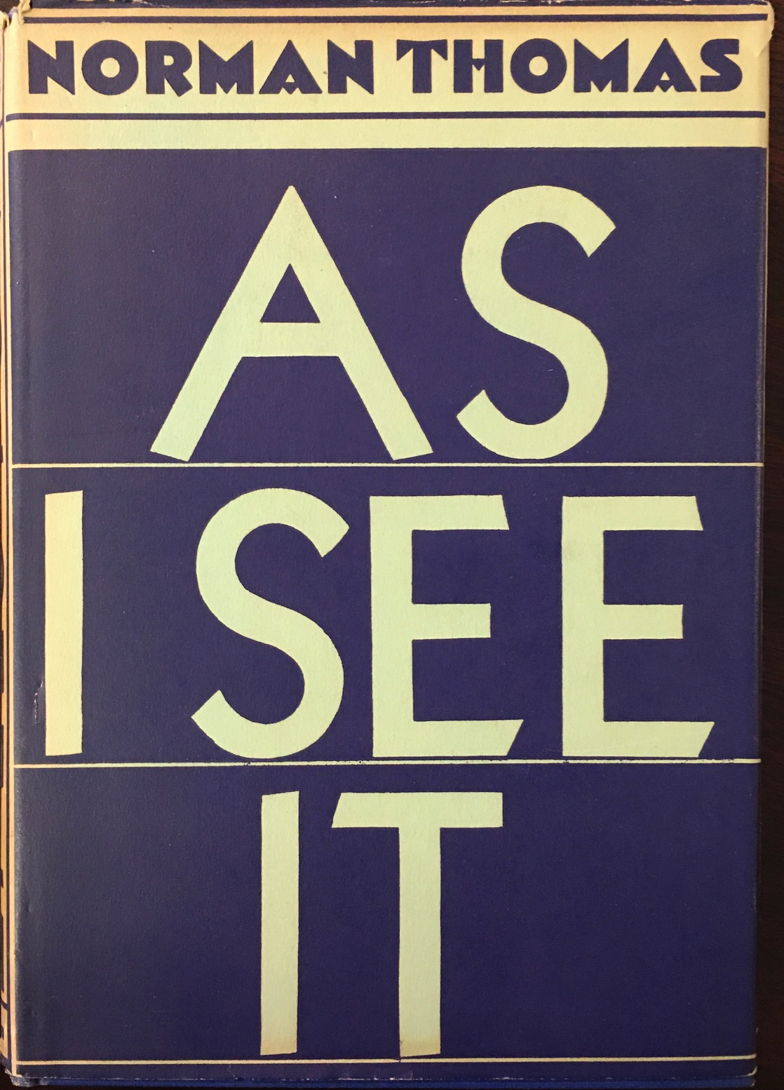 Image for As I See It (Signed)