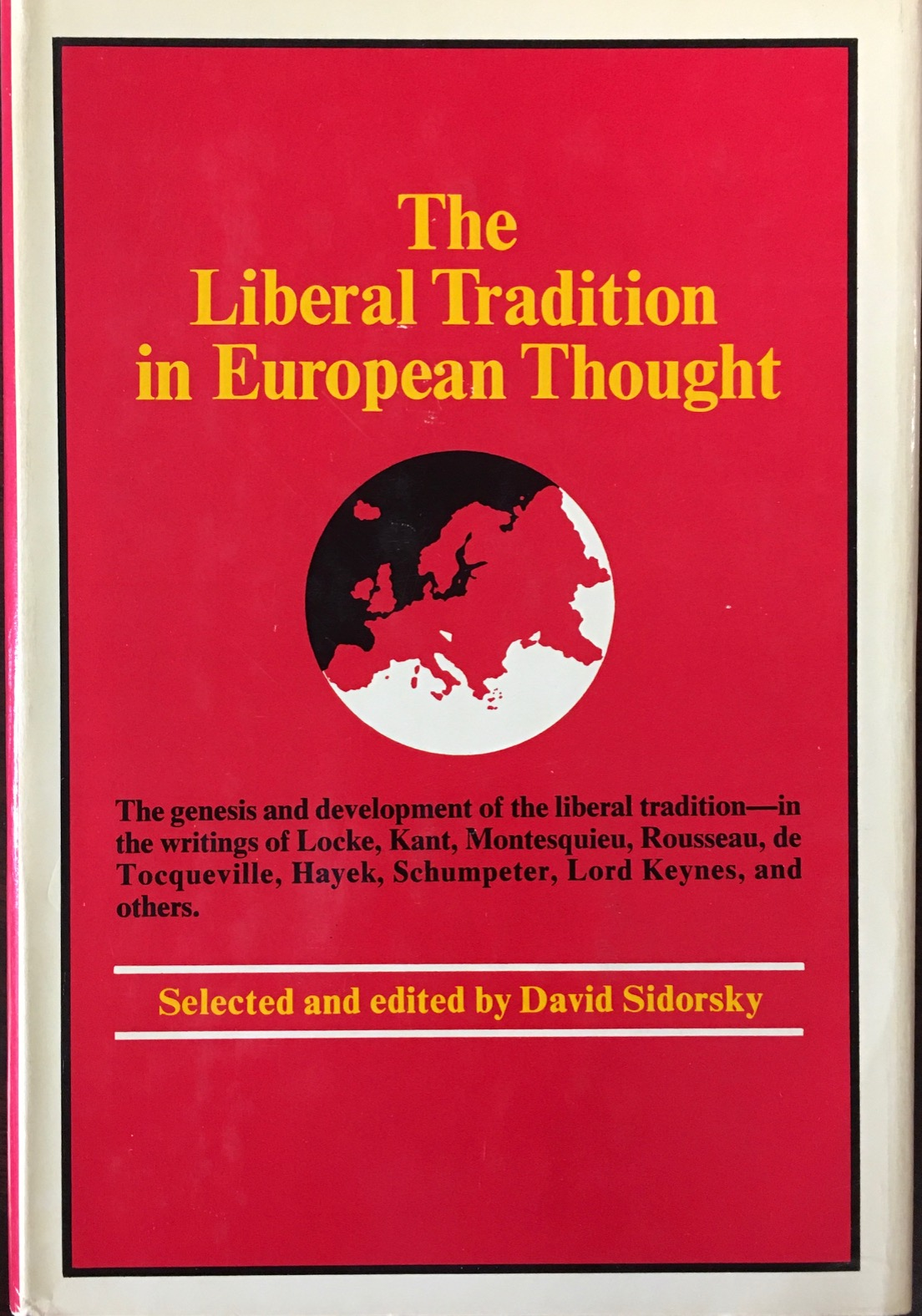 Image for The Liberal Tradition in European Thought