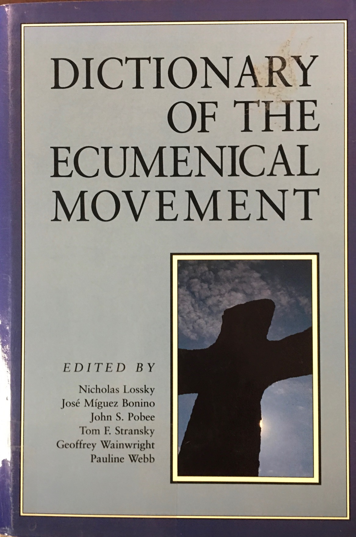 Image for Dictionary of the Ecumenical Movement