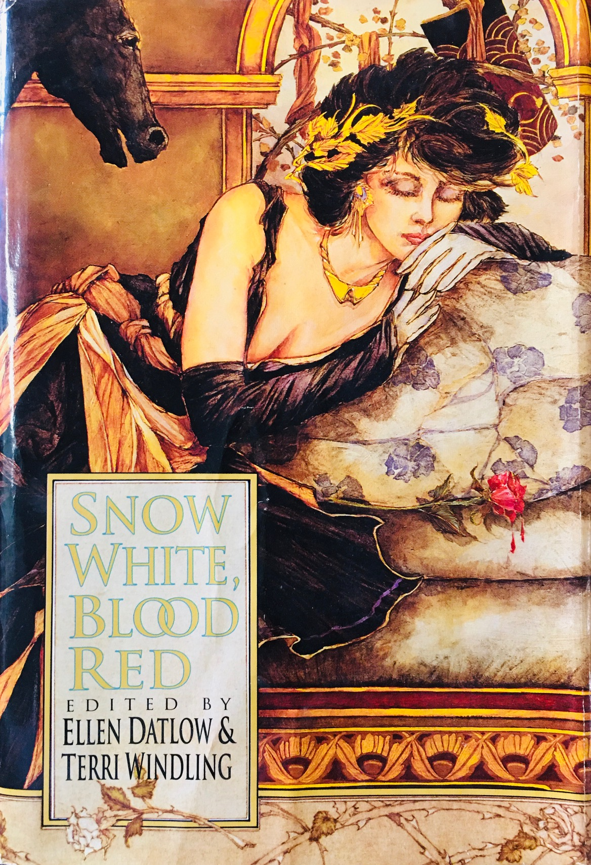 Image for Snow White, Blood Red (Avonova Book)