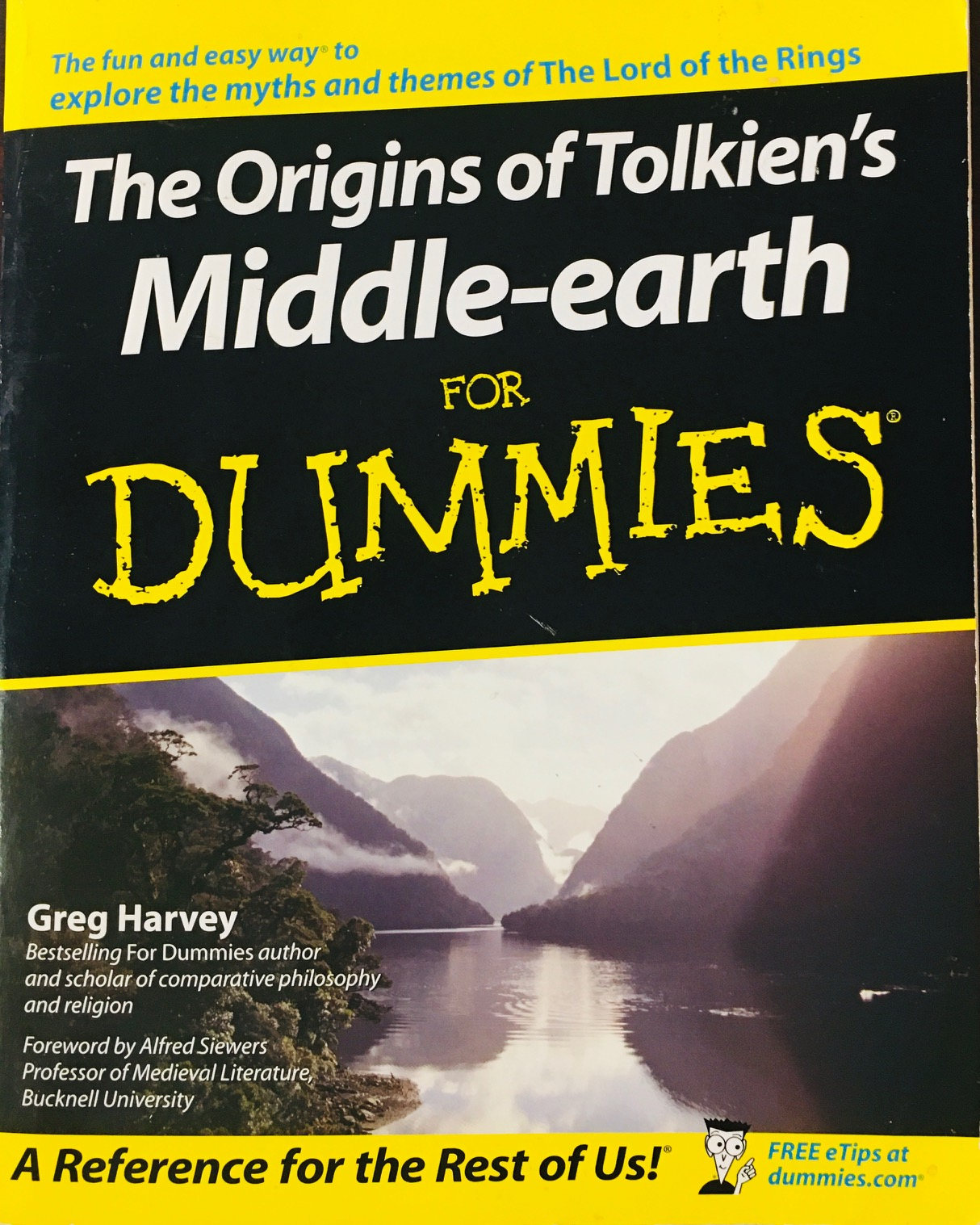 Image for The Origins of Tolkien's Middle-earth For Dummies