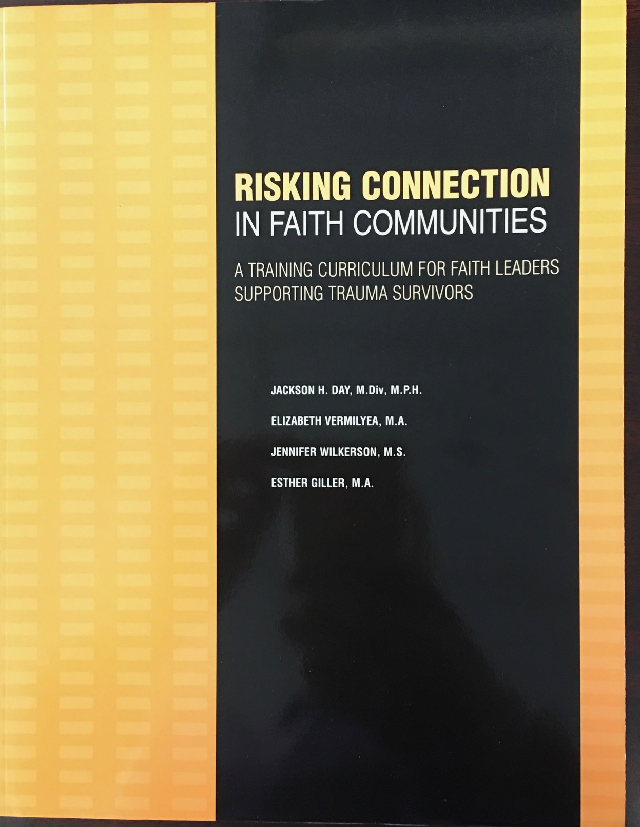 Image for Risking Connection in Faith Communities: A Training Curriculum for Faith Leaders Supporting Trauma Survivors