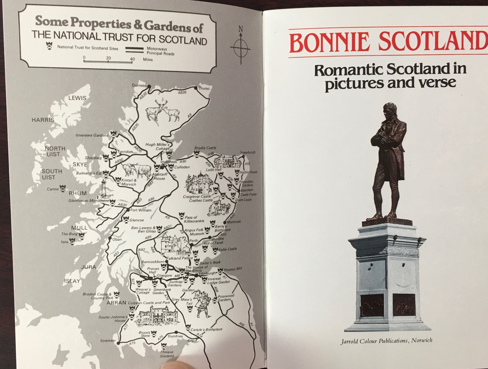 Image for Bonnie Scotland: Romantic Scotland in Pictures and Verse