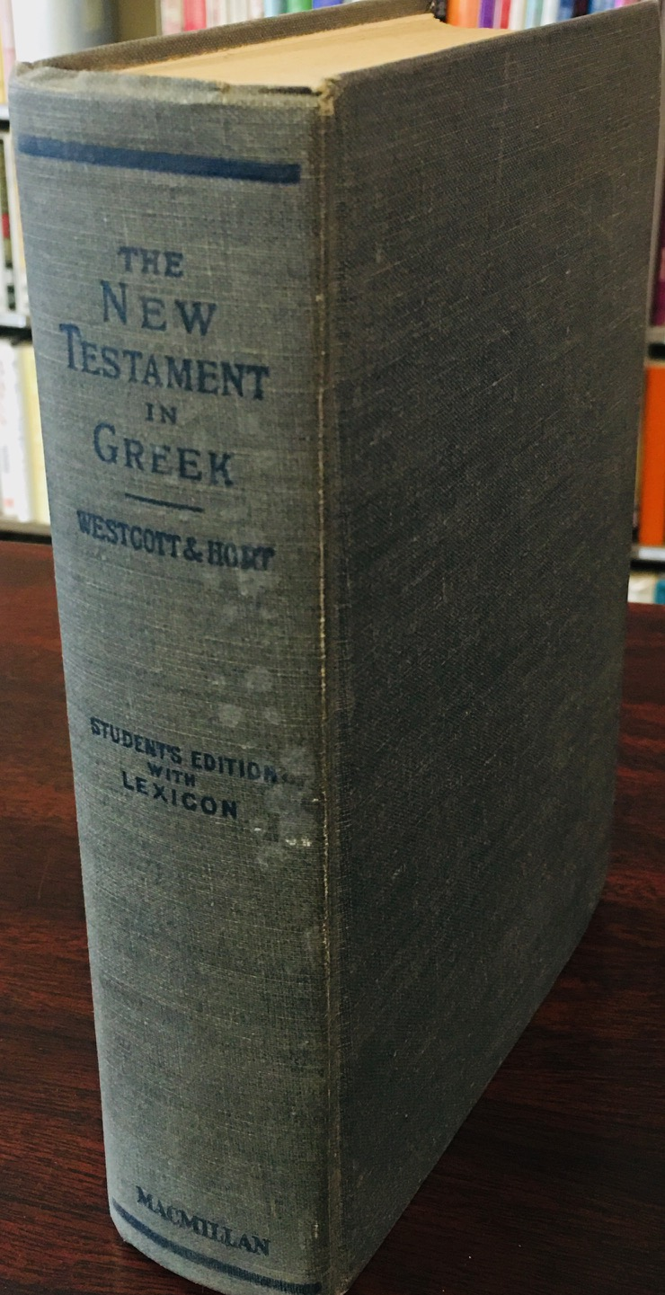 Image for The New Testament in the Original Greek