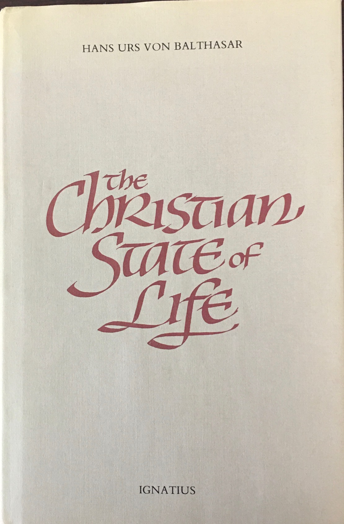 Image for The Christian State of Life (English Edition)