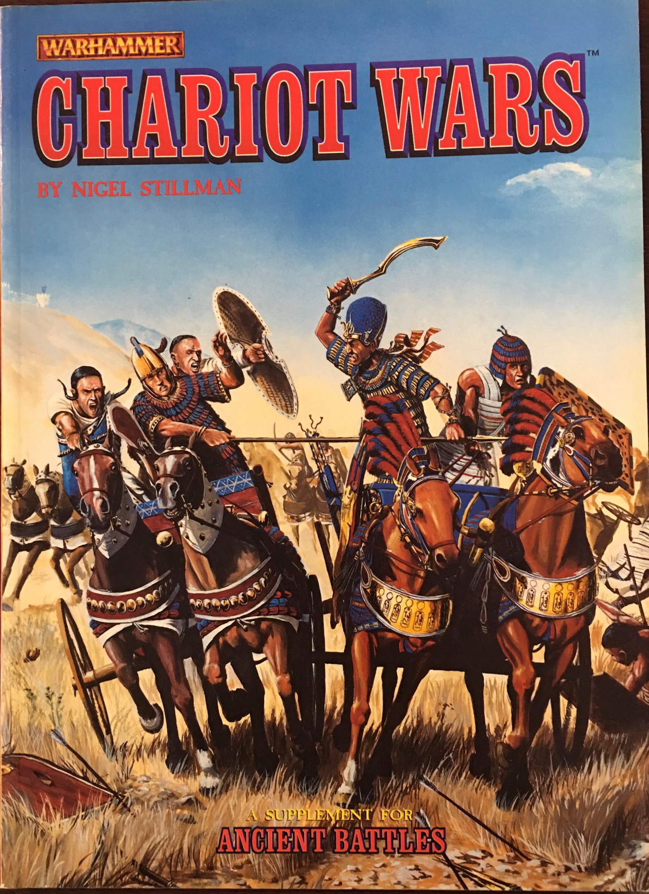 Image for Chariot Wars (A Supplement for Warhammer Ancient Battles)