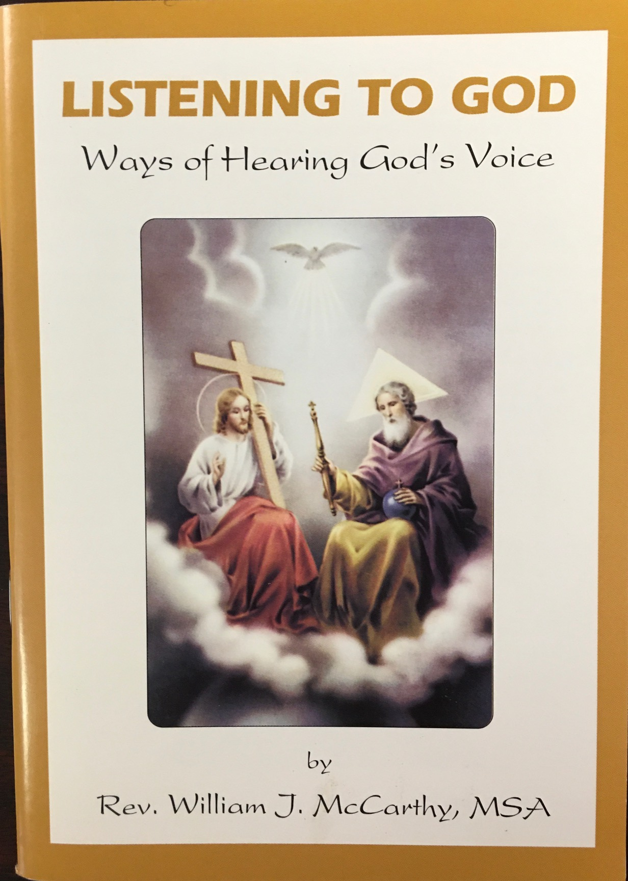 Image for Listening to God - Ways of Hearing God's Voice