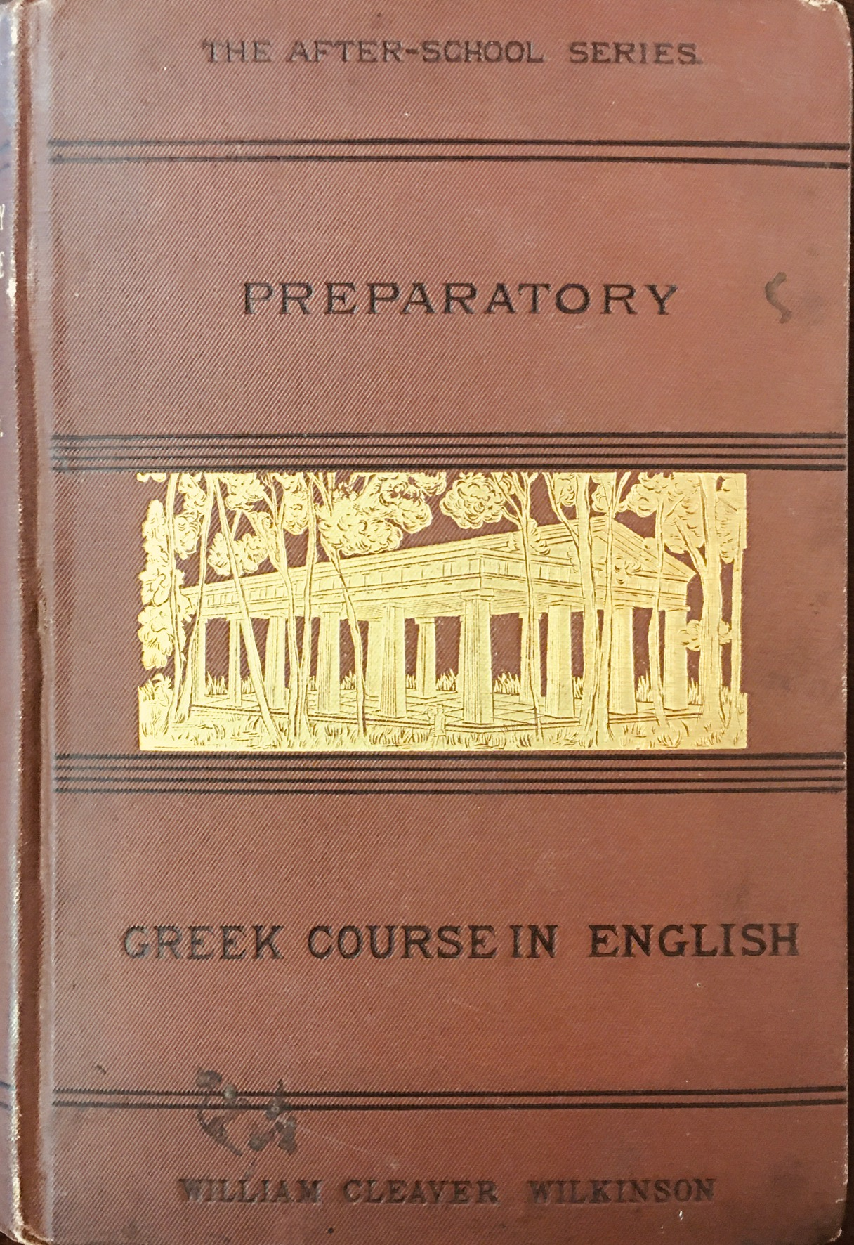 Image for PREPARATORY GREEK COURSE IN ENGLISH