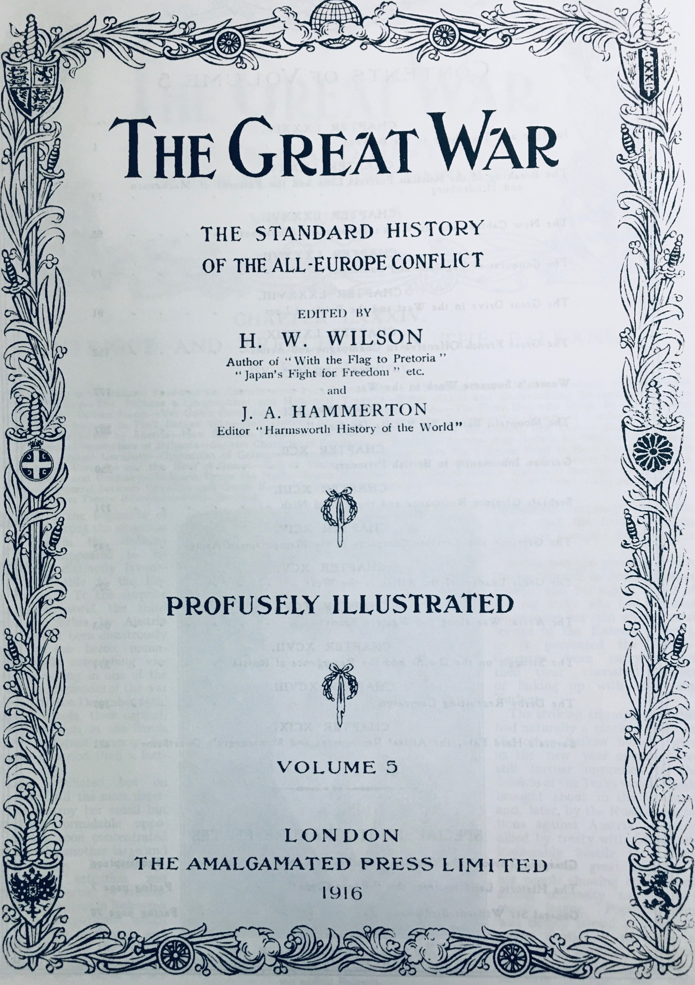 Image for The Great War - Deadlock (The Great War Series - Book III)  - Contains Volume 5 & Volume 6 of the original 13 Volume Set