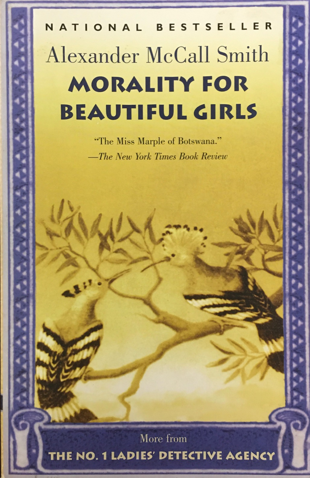 Image for Morality for Beautiful Girls (No. 1 Ladies Detective Agency)