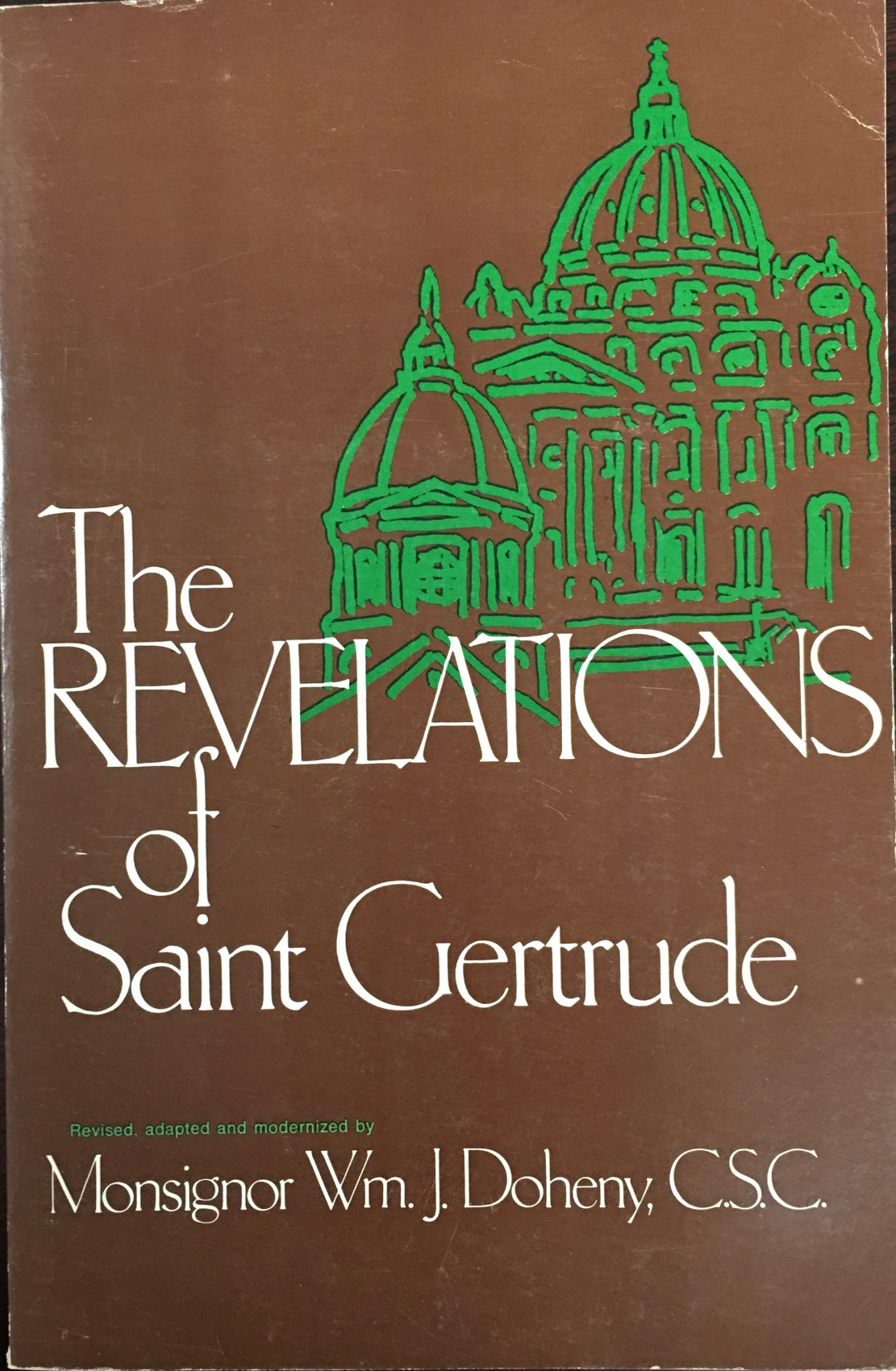 Image for The Revelations of Saint Gertrude (Revised, adaped and modernized)