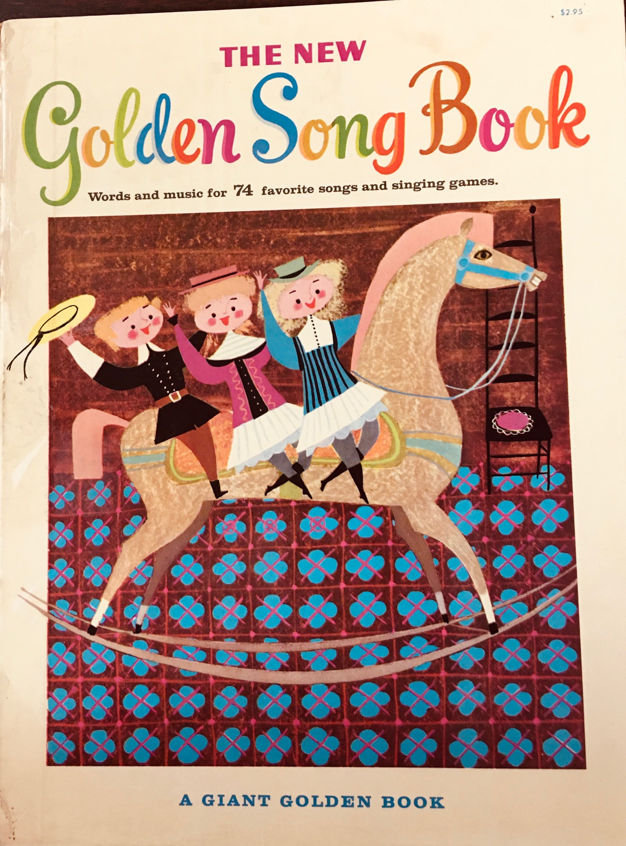 Image for The New Golden Song Book ( Words and Music for 72 Favorite Songs and Singing Games )