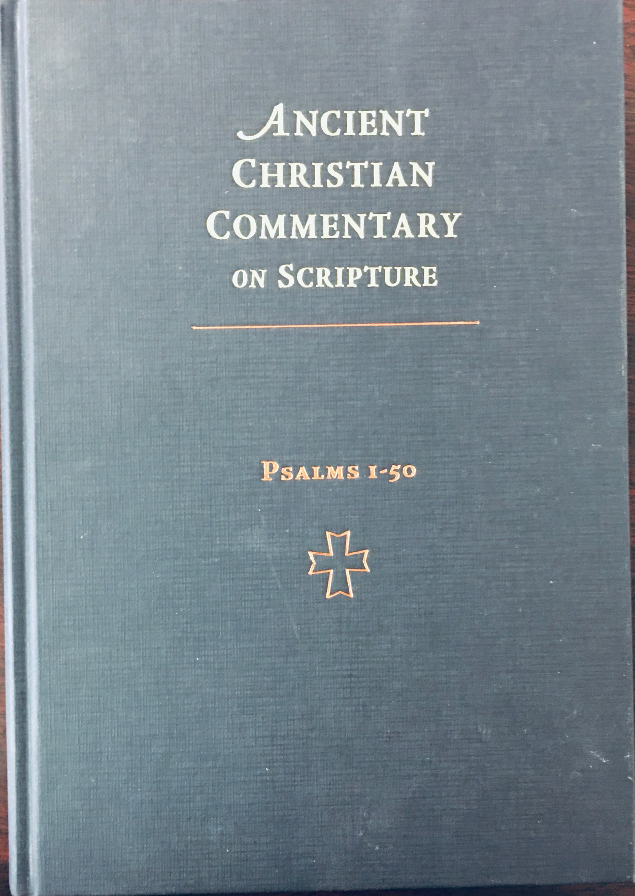 Image for Psalms 1-50 (Ancient Christian Commentary on Scripture - Old Testament, Volume VII)