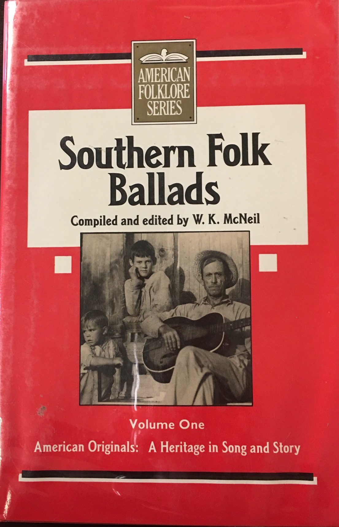Image for Southern Folk Ballads - Volume One (American Folklore Series)