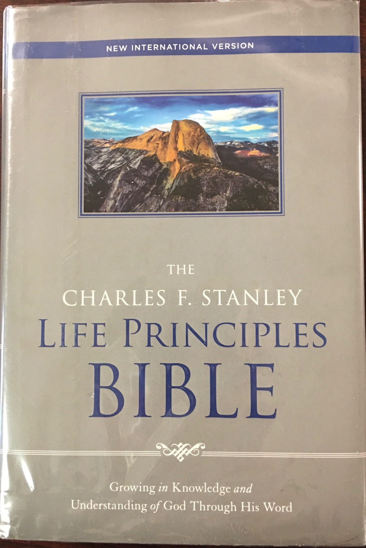 Image for The Charles F. Stanley Life Principles Bible - New International Version (NIV)