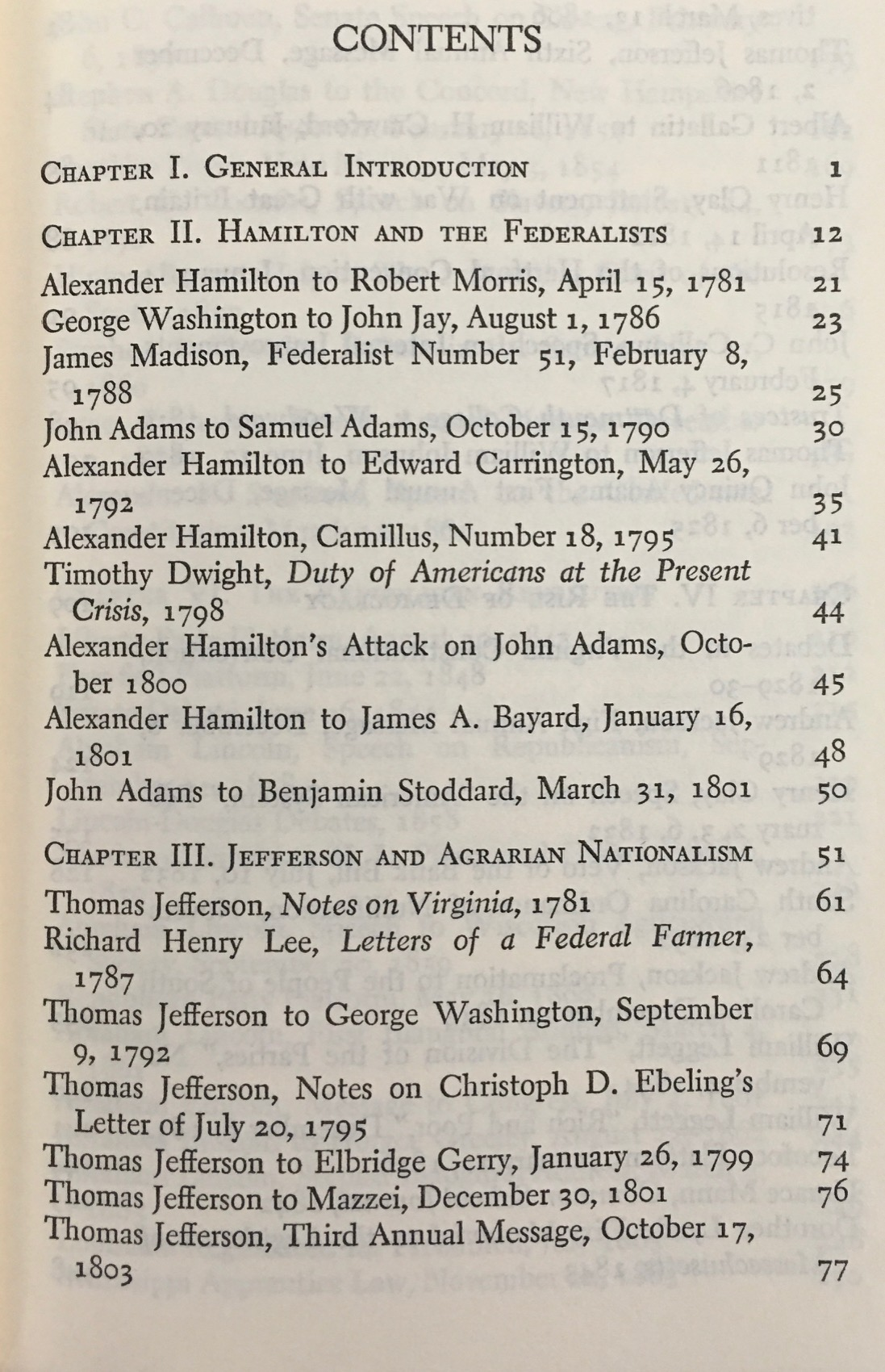 Image for The Jeffersonian and Hamiltonian Traditions in American Politics - A Documentary History (Anchor A464)