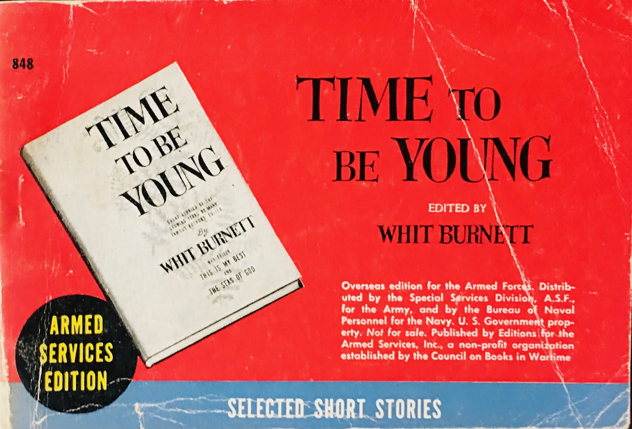 Image for Time to Be Young - A Story Press Book (Armed Services, Inc. #848)