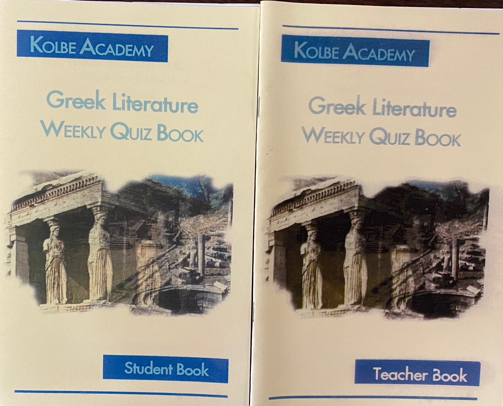 Image for Greek Literature: Weekly Quiz Book (Teacher and Student Study Guide Books)