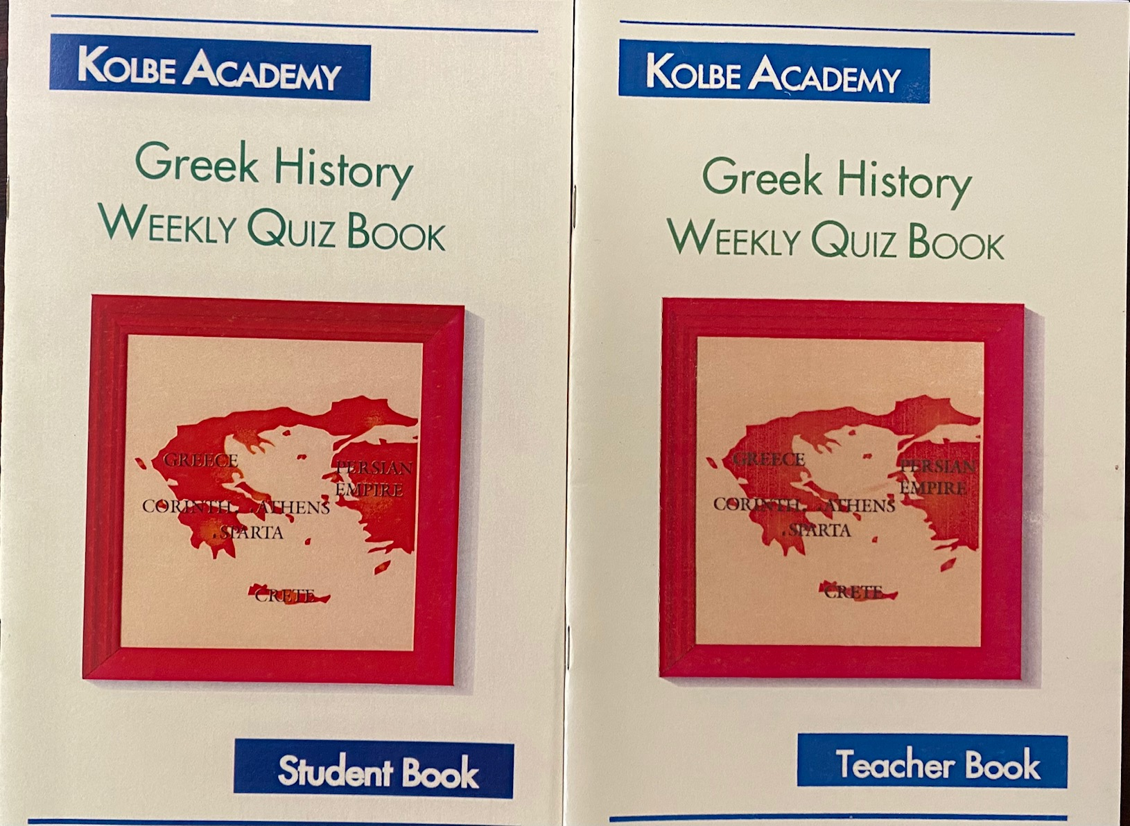 Image for Greek History: Weekly Quiz Book (Teacher and Student Book)