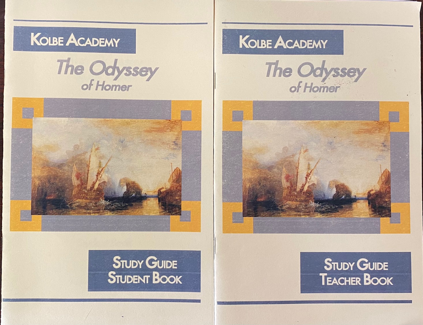 Image for The Odyssey of Homer (Teacher and Student Books)