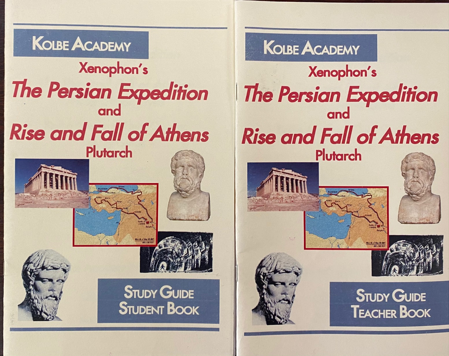 Image for The Persian Expedition and Rise and Fall of Athens: Nine Greek Lives (Teacher and Student Books)