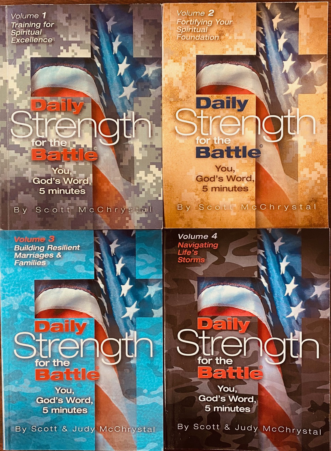 Image for Daily Strength For Battle: You, God's Word, 5 Minutes (Volumes 1 - 4)