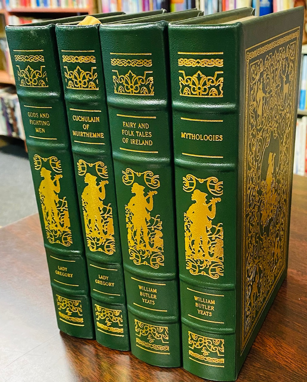 Image for A Treasury of Irish Folk Tales, Myths, and Legends (4 Volume Set)