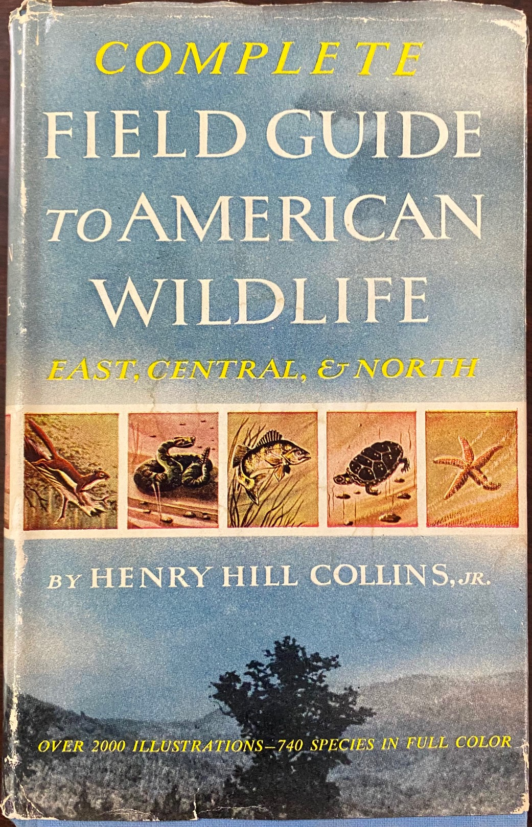 Image for Complete Field Guide to American Wildlife: East, Central, and North, covering all species of birds, mammals, reptiles, amphibians, food and game fishes, seashells, and the principal marine invertebrates occurring annually in North America east of the Rockies and north of the 37th parallel