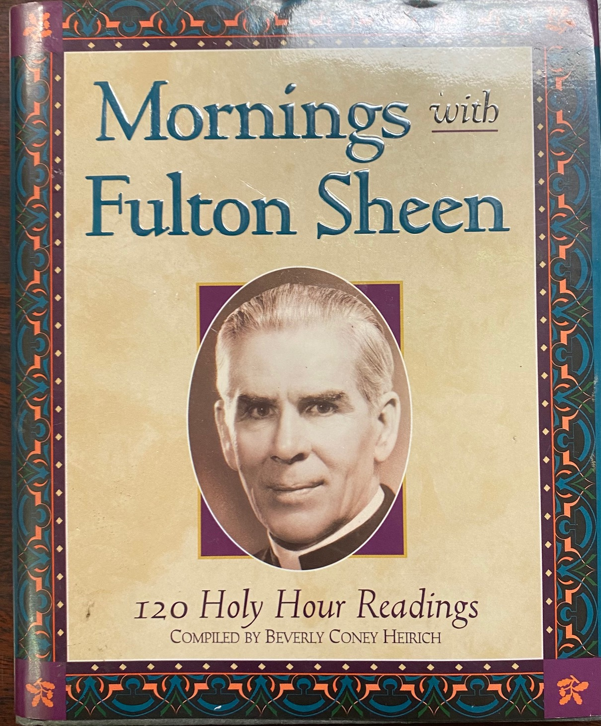 Image for Mornings With Fulton Sheen: 120 Holy Hour Readings