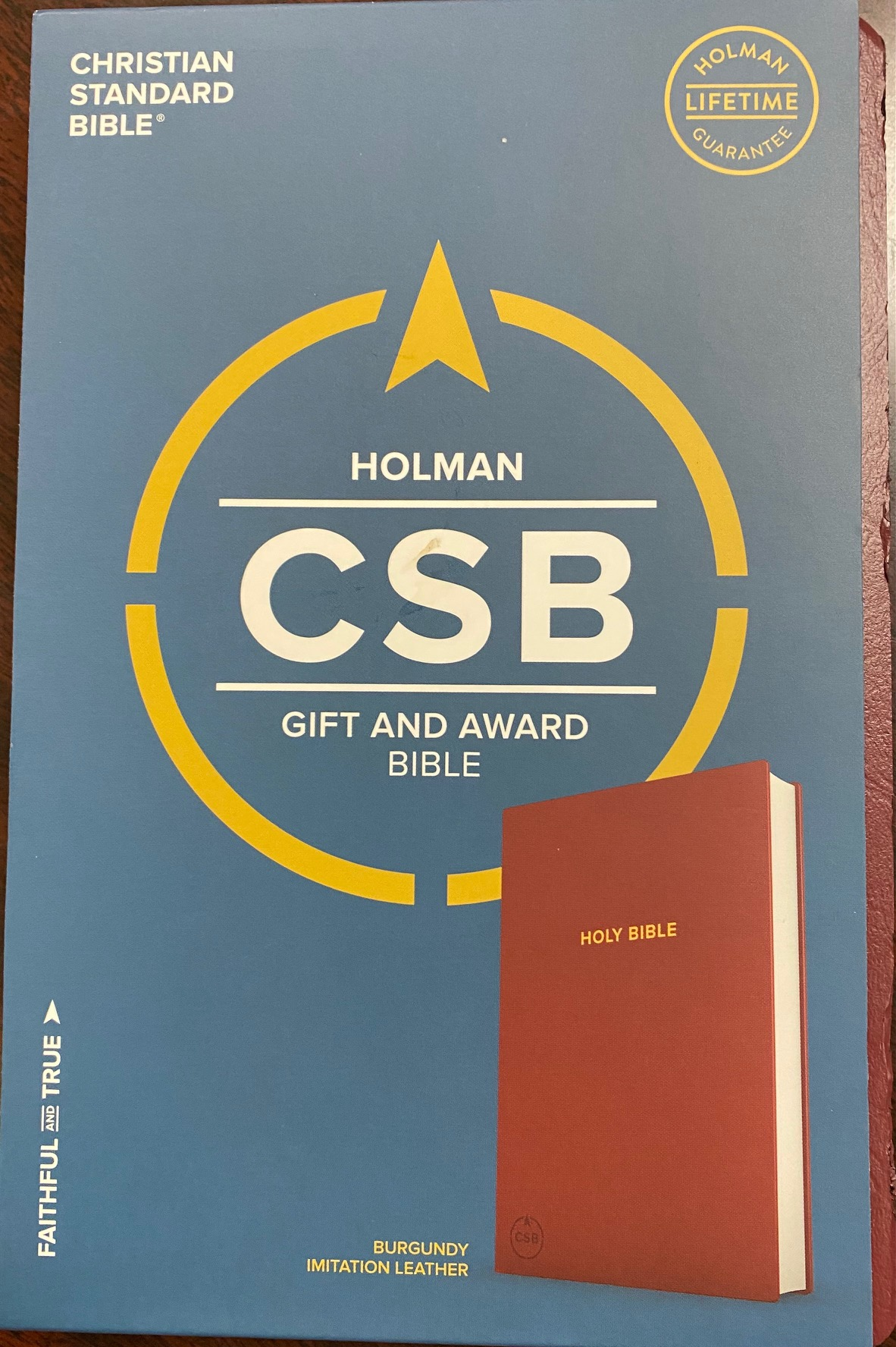 Image for Holy Bible (Christian Standard) (CSB Gift & Award Bible, Burgundy)