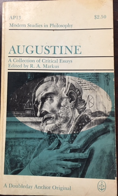 Image for Augustine: A Collection of Critical Essays