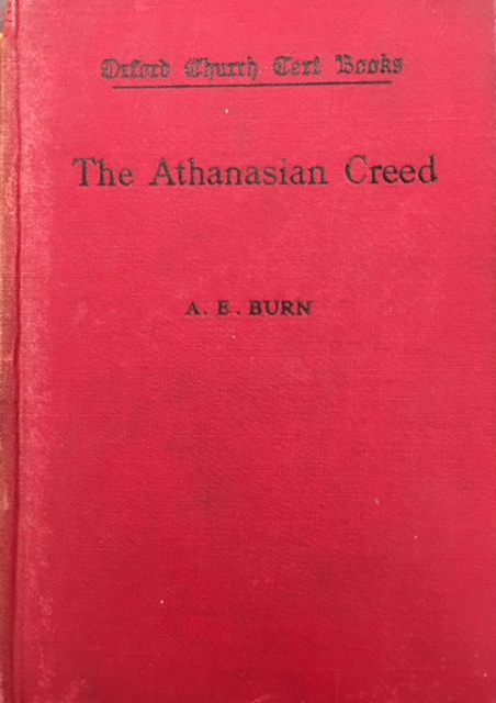 Image for The Athanasian Creed (Oxford Church Text Books)